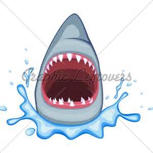 shark cartoon 183 gl stock images