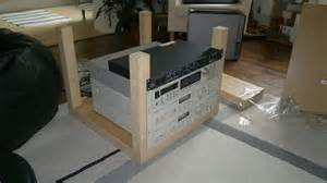 Kids Craft Table With Storage Lack Rack Amp Expedit Desktop Ikea Hackers Ikea Hackers