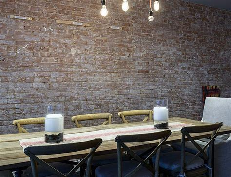 10 audacious dining rooms with brick walls