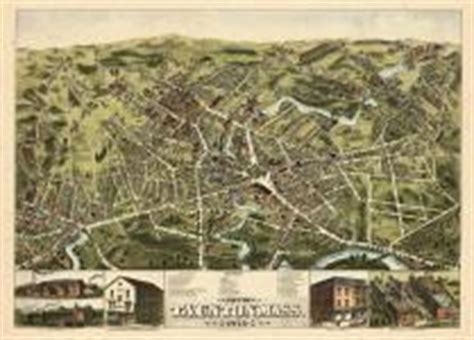 massachusetts antique maps and historical atlases
