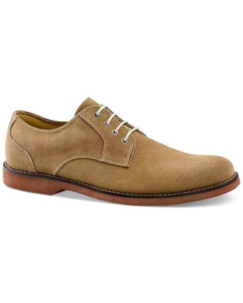 bass shoes womens oxfords g h bass co s proctor suede oxfords in brown for