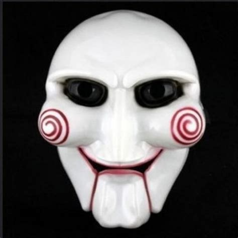 printable jigsaw mask new hot saw movie jigsaw puppet halloween mask head creepy