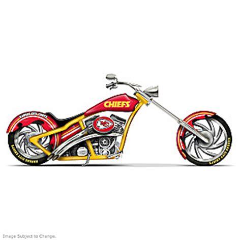 kansas colors nfl kansas city chiefs custom cruiser bike figurine