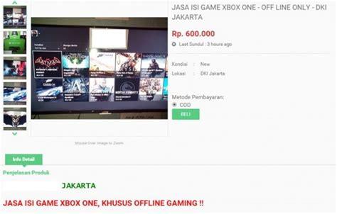 Berapa Hdd Xbox bajakan xbox one di indonesia makin marak jagat play