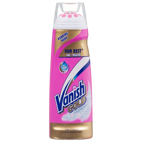 vanish gold powergel ml stain remover laundry
