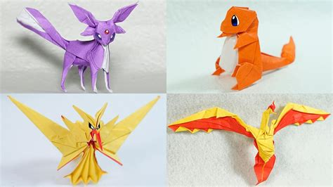 How To Make A Paper Charizard - origami origami fold your own pikachu