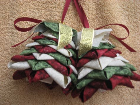 Quilted Ornament Patterns Free by Quilted No Sew Ornament Complete Pattern