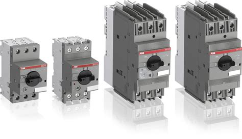 manual motor starter motor protection and control abb