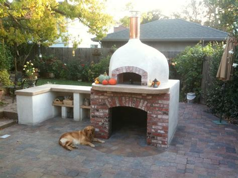 Outdoor Wood Fired Pizza Oven Designs