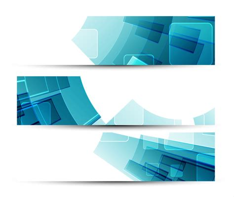 abstract design banners vector free download blue abstract banner free vector graphic download