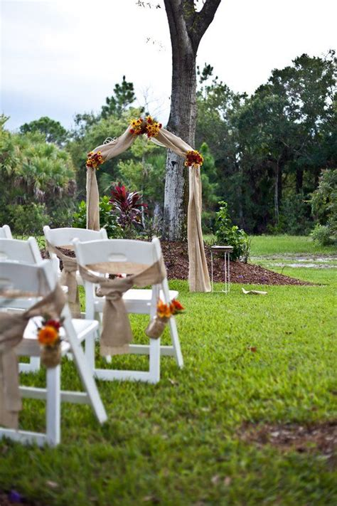 Backyard Wedding Altar Ideas 25 Best Ideas About Backyard Wedding Ceremonies On