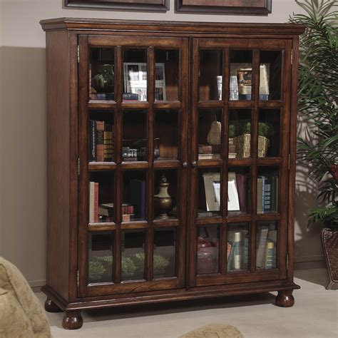oak bookcases with glass doors bookcases with doors photos yvotube