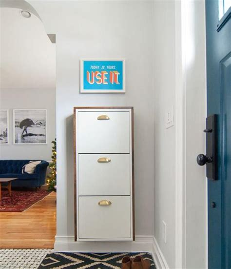 entryway shoe storage solutions 15 ikea hack ideas for your small entryway small