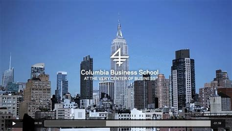 Columbia Executive Mba Deadlines by Entrepreneurship Gets Big Boost At Columbia