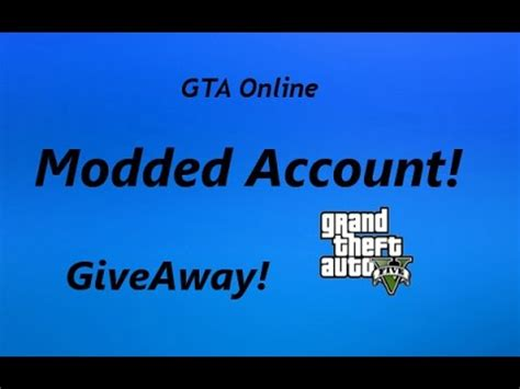 Ps3 Account Giveaway - giveaway modded gta online account ps3 unlimited money rank up to 8000 closed