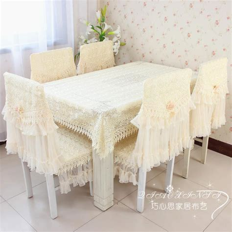 fashion dining table cloth chair covers cushion tablecloth