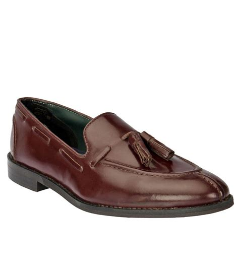black pony brown slip on shoes price in india buy black