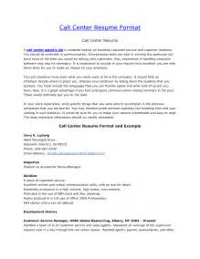 sle objectives in resume for call center resume