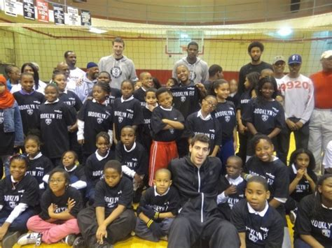bed stuy ymca video brooklyn nets visit bed stuy ymca bed ny patch