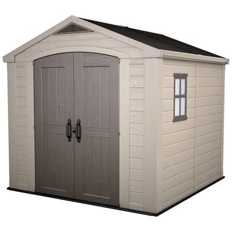 Keter 8 X 8 Shed by Keter Factor Garden Shed 8 X 8 Bunnings Warehouse