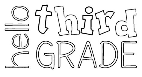 Colouring Pictures For Grade 3: Grade math colouring pages