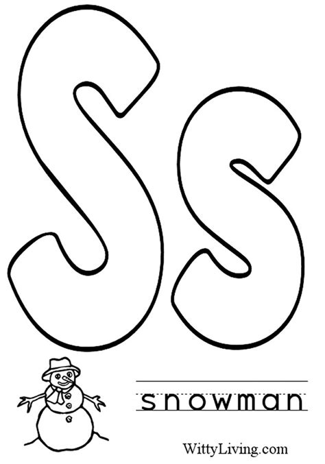 Abc Coloring Book Pages Az Coloring Pages Letter S Coloring Pages