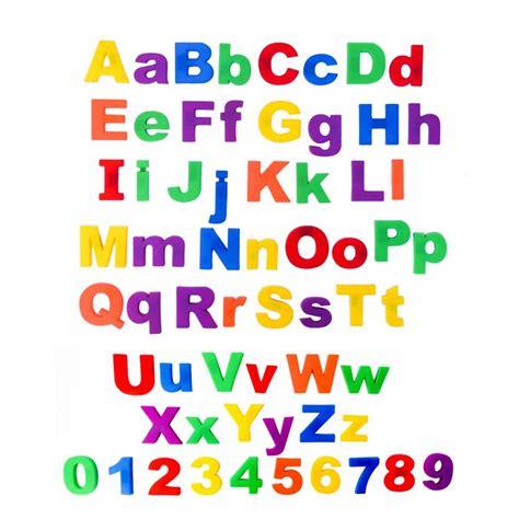 Alphabet Magnets by 78 Pcs Set Magnetic Letters Childrens Alphabet