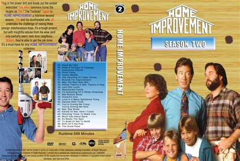 home improvement season 2 tv dvd custom covers