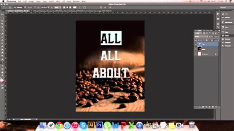 photoshop poster design youtube making a poster design in photoshop youtube