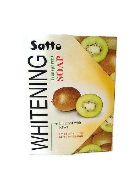 Wajah Satto by Jual Satto Whitening Transparent Soap Kulit Lembut