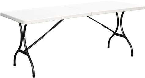 tavoli in plastica pieghevoli offerta tavolo pieghevole da esterno picnic bianco