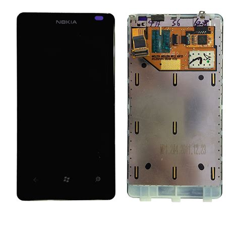 100 original replacement for nokia lumia 800 lcd display touch digitizer screen assembly with