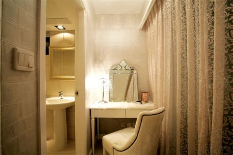 dressing area sophisticated elegance of interiors