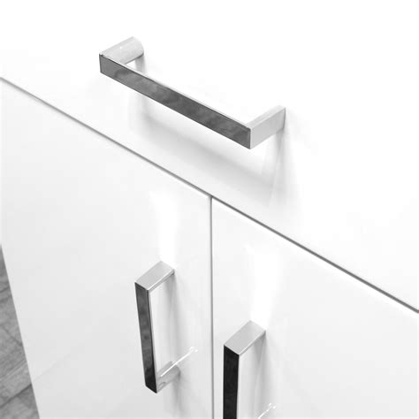 High Gloss Bathroom Cabinets White by Buy High Gloss White Quot Salerno Quot Bathroom Cabinet W Soft