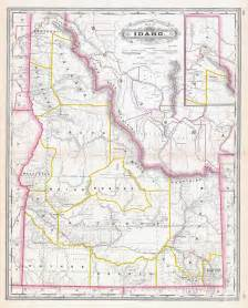 map of idaho large detailed administrative map of idaho state 1887 vidiani maps of all