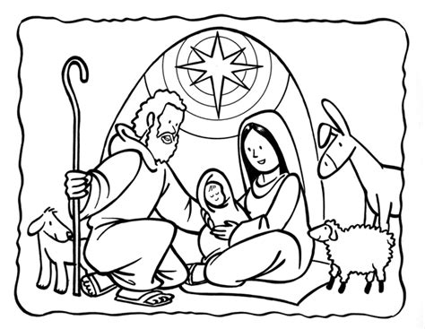 coloring page birth of jesus birth of jesus printable coloring pages coloring pages
