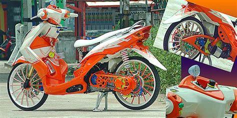 Sokbreker Belakang Mio Variasi modif mio soul thailand style ring 17 klop otokrum