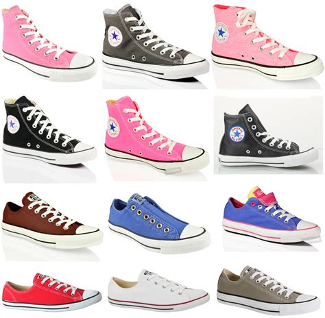 Best Seller Sepatu Pria Sneakers Casual Skateboard Converse Pro converse all chuck canvas hi lo top casual leather trainers shoes ebay
