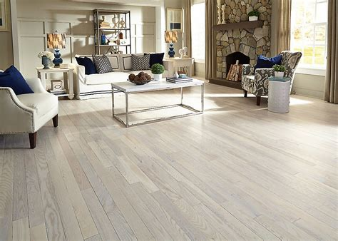"""3/4"""" x 5"""" Matte Carriage House White Ash   BELLAWOOD"""