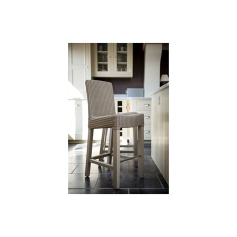 Lloyd Loom Bar Stools by Neptune Montague High Back Bar Stool Kitchen Bar