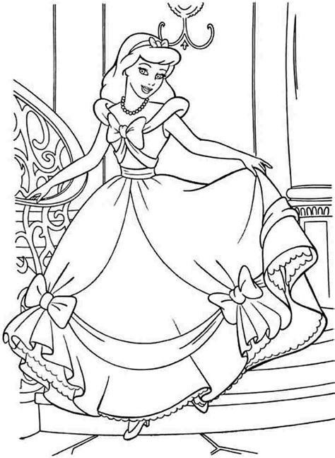 disney coloring pages for boy printable cinderella story coloring home