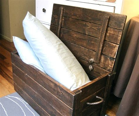diy trunk chest projects plans images