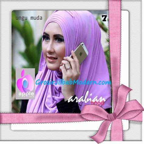Jilbab Instan Hoodie Arabian jilbab hoodie instan arabian seri 2 by apple brand no 7 ungu muda grosir jilbab modern