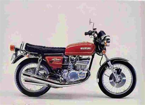 Suzuki 380 Gt Suzuki Gt 380 Specs 1972 1973 1974 1975 1976 1977
