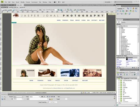 dreamweaver templates free index of dreamweaver images