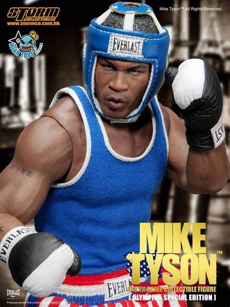 Boxer Mike Avenger Biru 發行 world weight class boxing chion 世界重量級拳擊冠軍 拳王 mike tyson 麥克泰森 奧運特別版 發售消息