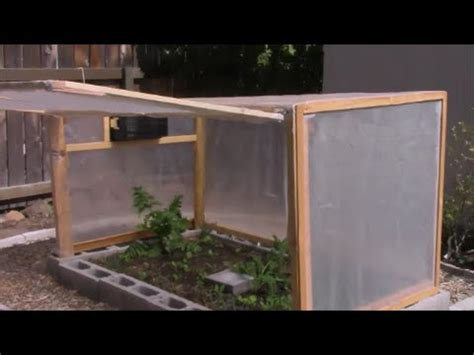 mini backyard greenhouse youtube