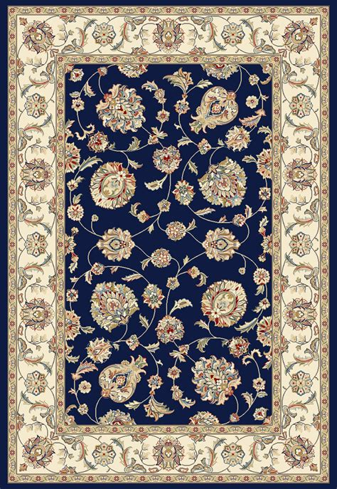 navy and ivory rug dynamic rugs ancient garden 57365 3464 blue ivory 34