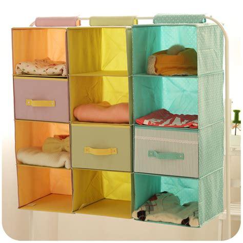 3 In 1 Cloth Organizer Coklat Polka 1 Set Isi 3 Pcs Ukuran Berbeda M hanging closet organizers from china roselawnlutheran