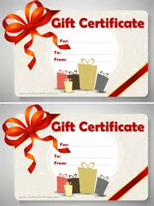 Birthday Gift Certificate Template Word by Free Gift Certificate Template E Commercewordpress